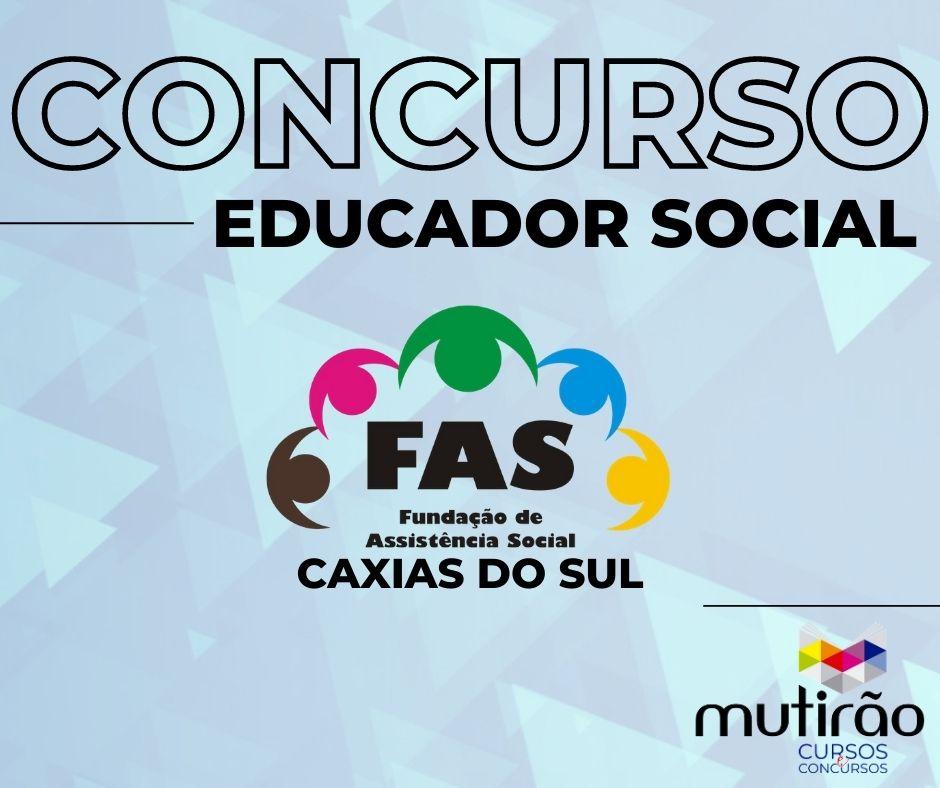 Prep. Concurso FAS - Educador Social
