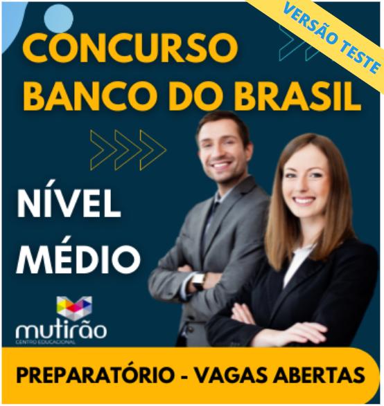 Preparatório para Concursos do Banco do Brasil - Versão TESTE